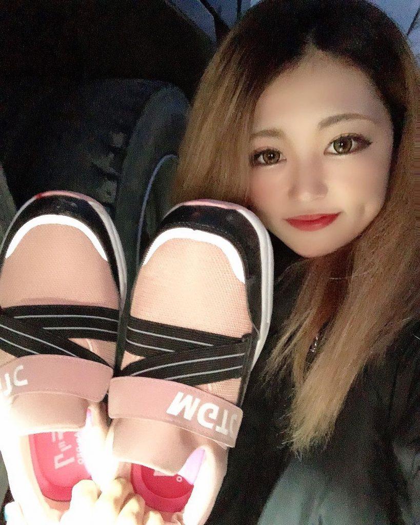レディース安全靴(スリッポンタイプ)インスタグラム使用画像2
